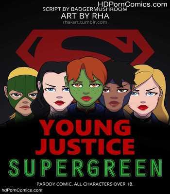 Xxx comics-Supergreen- Young Justice1 free sex comic