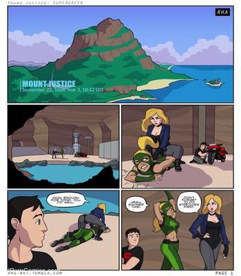 Xxx comics-Supergreen- Young Justice2 free sex comic