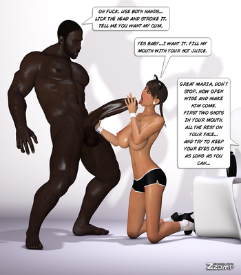 Zzomp – Maria First Interracial Scene16 free sex comic