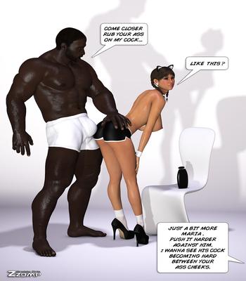 Zzomp – Maria First Interracial Scene4 free sex comic