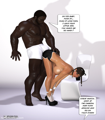 Zzomp – Maria First Interracial Scene5 free sex comic