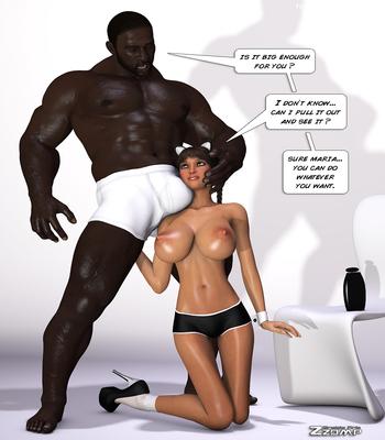 Zzomp – Maria First Interracial Scene8 free sex comic