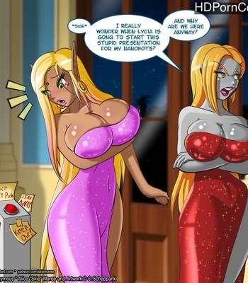 Porn Comics - A Big Presentation