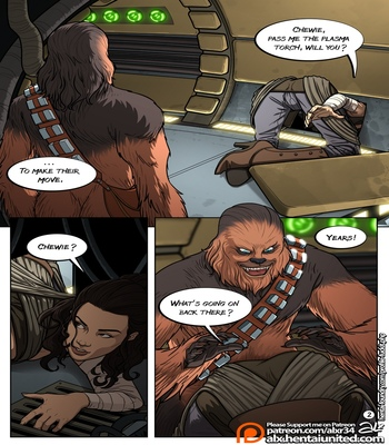 A Complete Guide To Wookie Sex comic porn sex 003