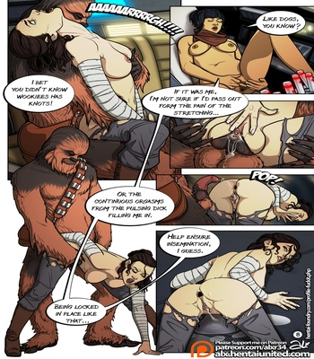 A Complete Guide To Wookie Sex comic porn sex 009