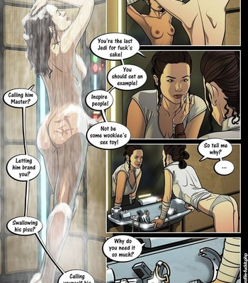 A Complete Guide To Wookie Sex 3 comic porn sex 009