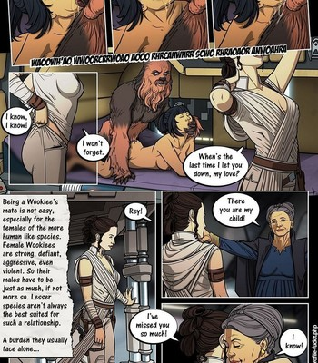 A Complete Guide To Wookie Sex 3 comic porn sex 010
