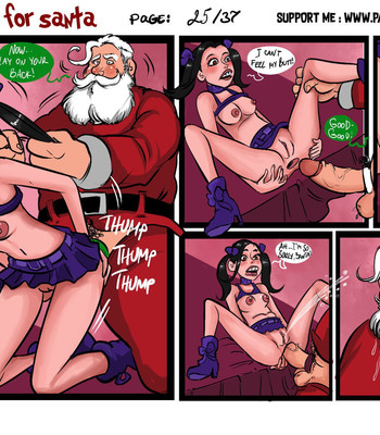 A Cookie For Santa comic porn sex 026