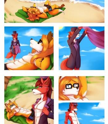 Porn Comics - A Foxy Day At The Beach
