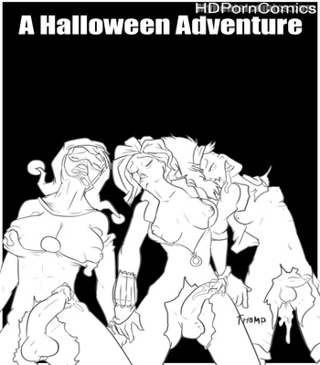Porn Comics - A Halloween Adventure futanari comics