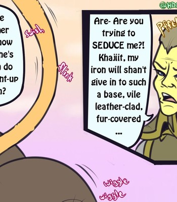 A Khajiit Tail Of Bounty Bribery comic porn sex 004