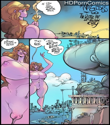Porn Comics - A New Goddess 2 – The Battle For New York City
