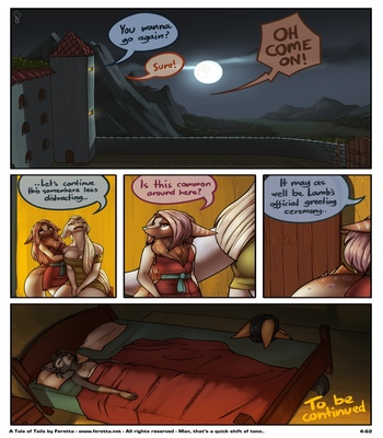 A Tale Of Tails 4 - Matters Of The Mind comic porn