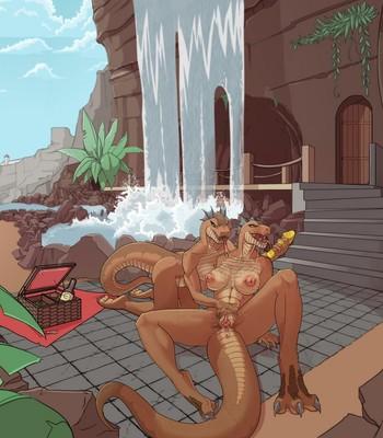 A Tizzian Picnic comic porn