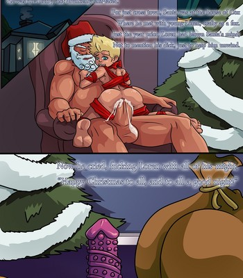 A Visit From Mrs Claus comic porn sex 009