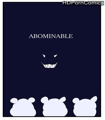 Porn Comics - Abominable