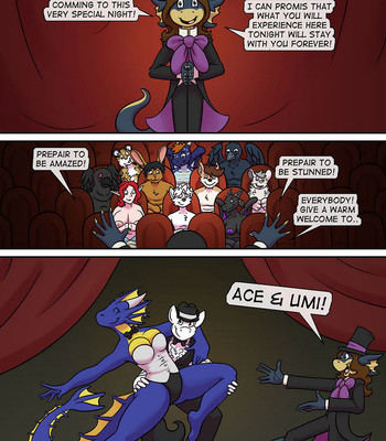 Ace & Umi's Magic Show! comic porn sex 002