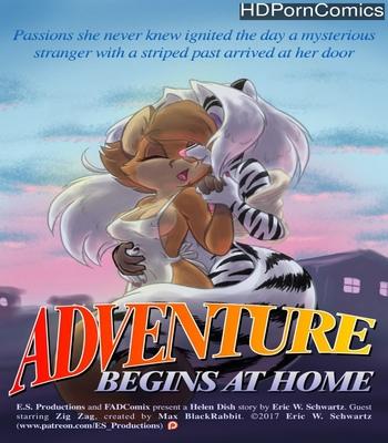 Porn Comics - Adventure Begins At Home