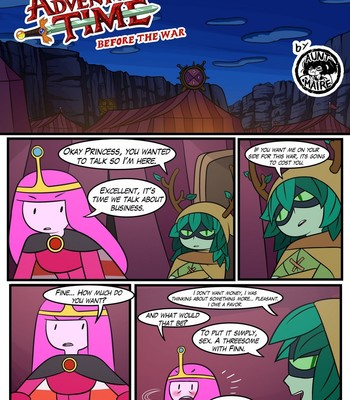 Porn Comics - Adventure Time – Before The War