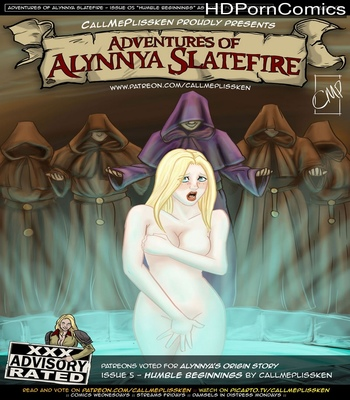 Porn Comics - Adventures Of Alynnya Slatefire 5