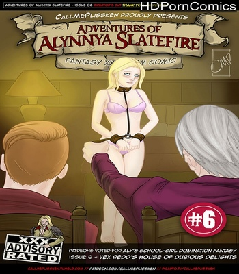 Porn Comics - Adventures Of Alynnya Slatefire 6