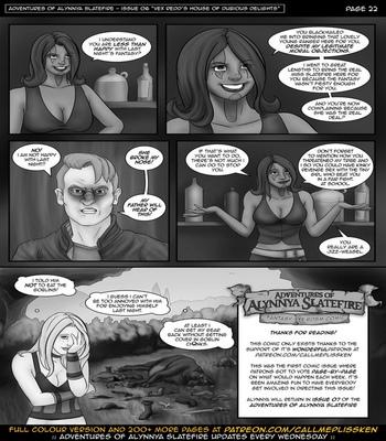 Adventures Of Alynnya Slatefire 6 comic porn