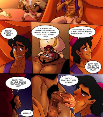 Porn Comics - Agrabah Taxes