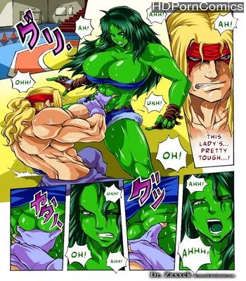 Porn Comics - Alex vs She-Hulk