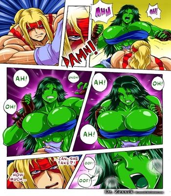 Alex-vs-She-Hulk 2 free sex comic