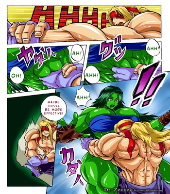 Alex-vs-She-Hulk 3 free sex comic