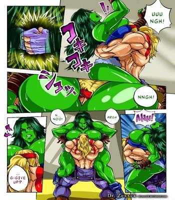 Alex-vs-She-Hulk 4 free sex comic