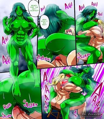 Alex-vs-She-Hulk 10 free sex comic