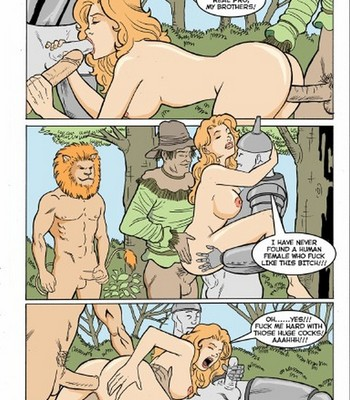 Alice In Another Monsterland 2 comic porn sex 004