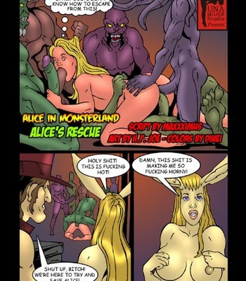 Porn Comics - Alice In Monsterland 9 – Alice's Rescue