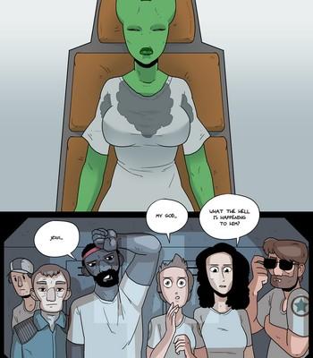 Alien Tongues 1 comic porn sex 012