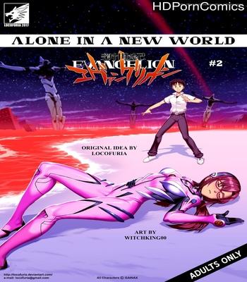 Porn Comics - Alone In A New World 2