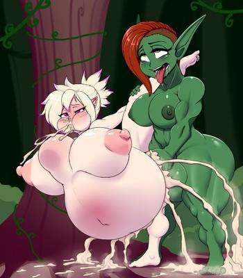 Alykia And The Futa Goblin comic porn sex 005