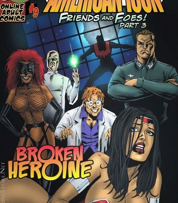 Porn Comics - American Icon – Friends And Foes 3