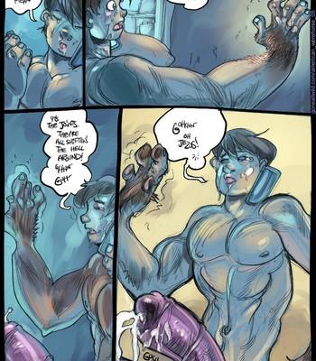 American Werehorse comic porn sex 005