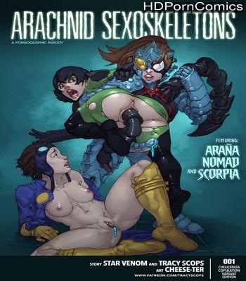 Porn Comics - Arachnid Sexoskeletons