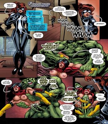 Arachnids-Assemble 2 free sex comic