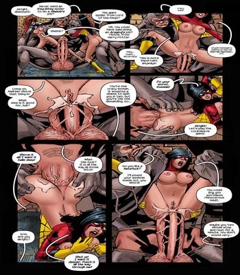 Arachnids-Assemble 8 free sex comic