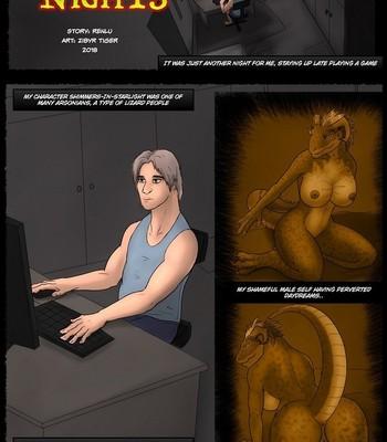 Porn Comics - Argonian Nights