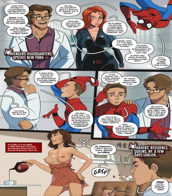 Aunt-Cumming – Spider-Man comic porn sex 003