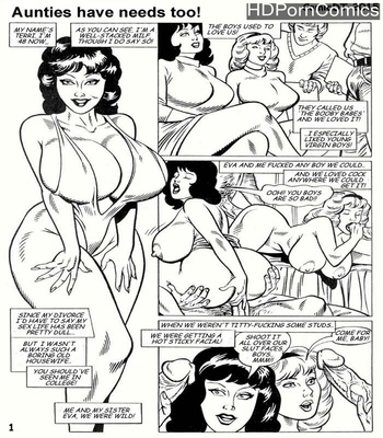 Porn Comics - Aunties Have Needs Too