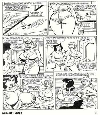 Aunties Have Needs Too comic porn sex 003