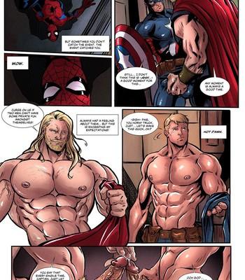 Avengers 1 comic porn sex 002