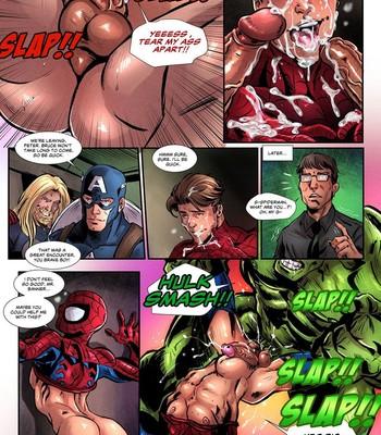 Avengers 1 comic porn sex 006