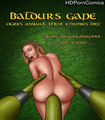 Porn Comics - Baldur's Gape – Ogres Assfuck Their Enemies Dry