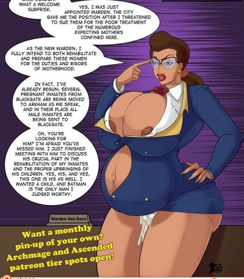 Porn Comics - Batman Impregnates All The Girls